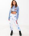 Cloudy Tie-Dye Sweatpants