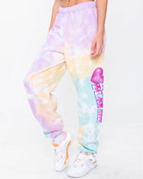Don't Play Me Tie Dye Sweatpants