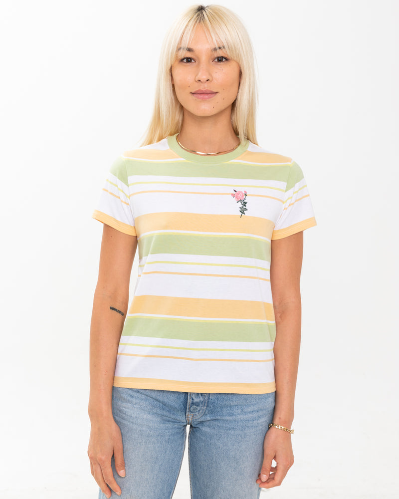 Sherbert Striped Tee