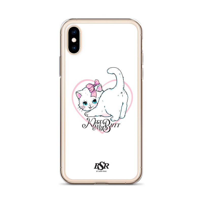 Kiss My Butt iPhone Case