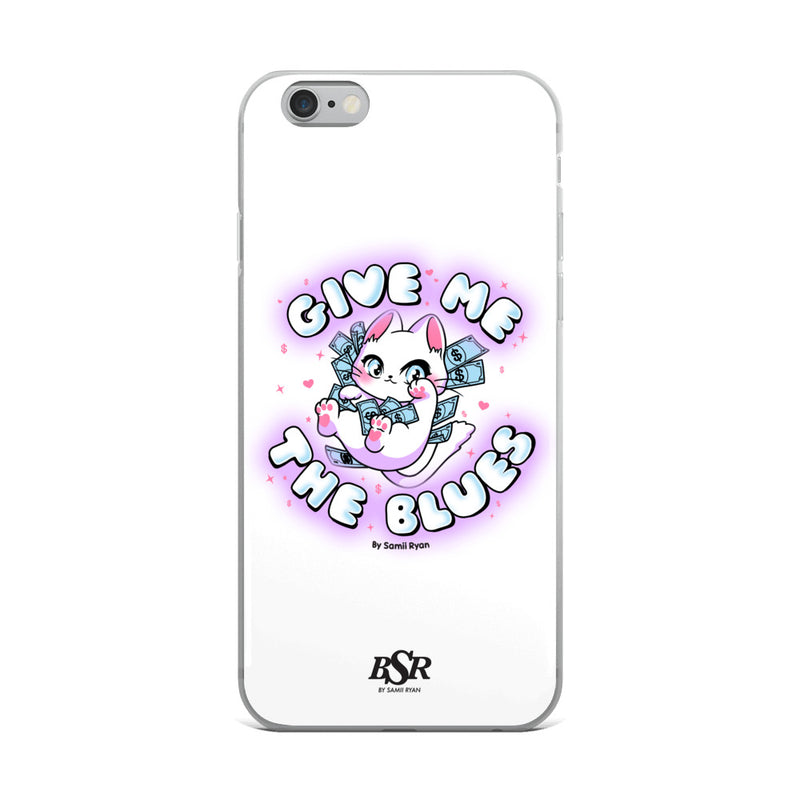 Give Me The Blues iPhone Case