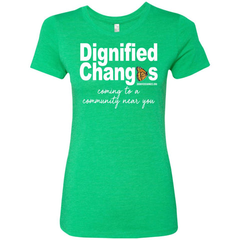DC Community Ladies Fitted Tee