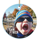 Team Nick Ornament