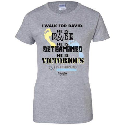 Team David Ladies Fitted Tee