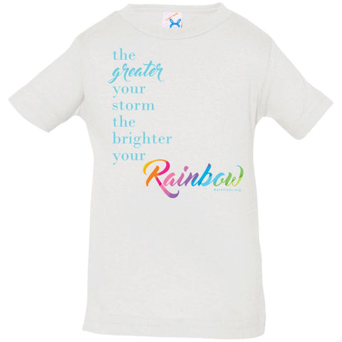 Weather the Storm Rainbow Infant/Toddler Tee