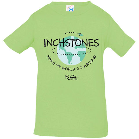 Inchstones Make My World Infant Tee