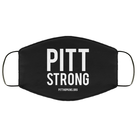 Pitt Strong Face Mask - Black