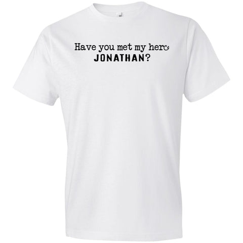 Jonathan Definition of a Hero Youth Tee