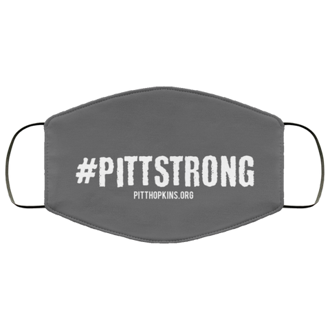 Pitt Strong Face Mask - Gray