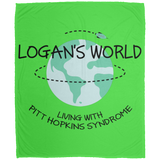 Logan's World Micro Fleece Blanket