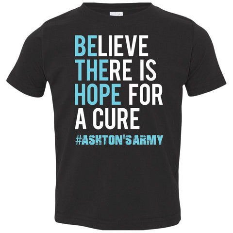 Ashton's Army 'Be the Hope' Toddler Tee