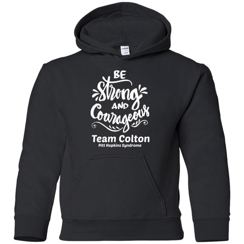 "Team Colton ""Be Strong"" Youth Pullover Hoodie"