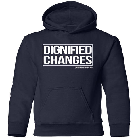 "Dignified Changes ""Box"" II Youth Pullover Hoodie"