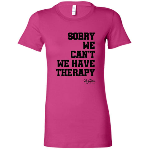 Because Therapy Ladies Tee