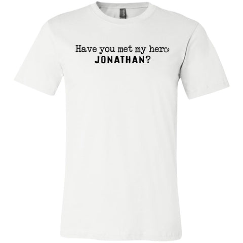 Jonathan Definition of a Hero Unisex Tee