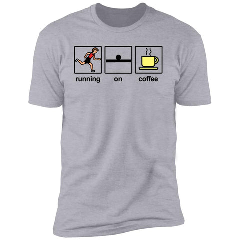 Running on Coffee Unisex Tee