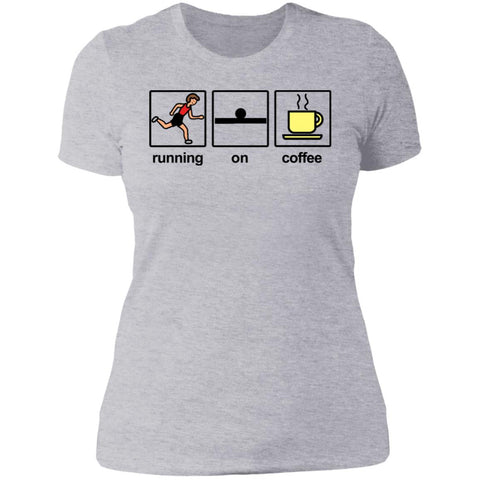 Running on Coffee LadiesTee