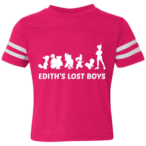 "Edith's Lost Boys ""Dream"" Toddler Striped Tee"