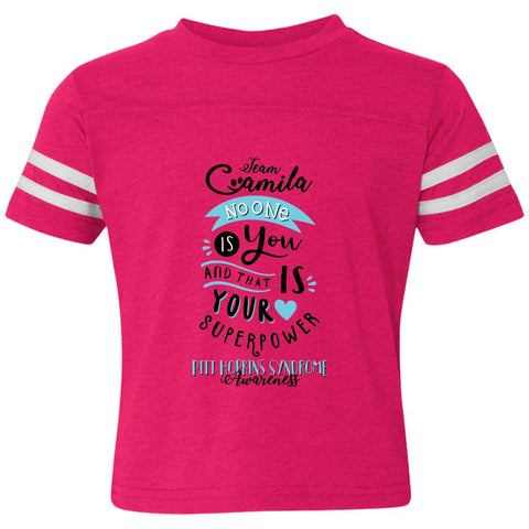 Team Camila Toddler Stripped Tee