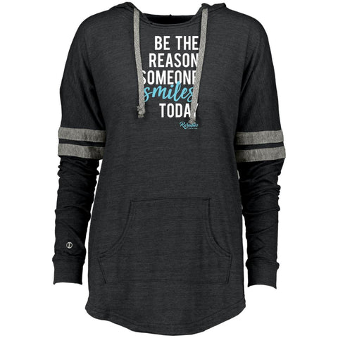 Be the Reason Someone Smiles Ladies Hooded Pullover