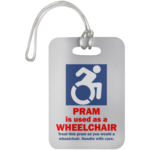 Pram is a Wheelchair Tag