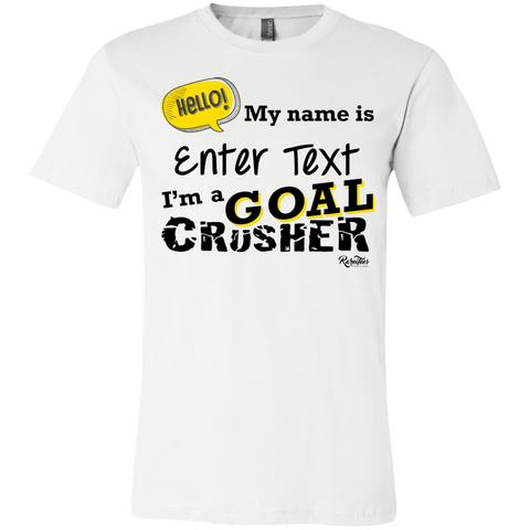 Personalized Goal Crusher Youth Tee