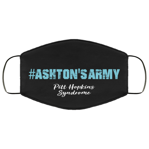 Ashton's Army Face Mask