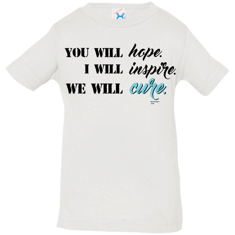 Hope-Inspire-Cure Infant/Toddler Tee