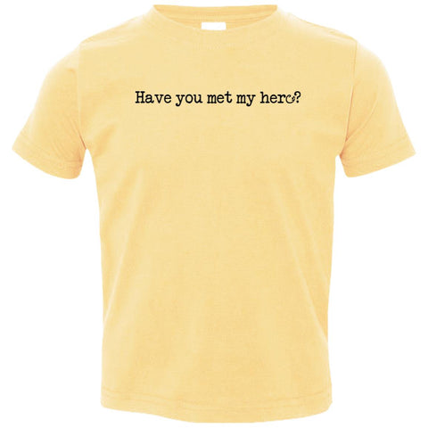 Pitt Hopkins Definition of a Hero Toddler Tee