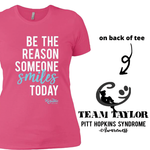 Team Taylor 'Be the Reason' Ladies Relaxed Tee