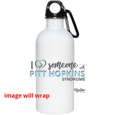 "I Love Someone with ""Pitt Hopkins"" Water Bottle"