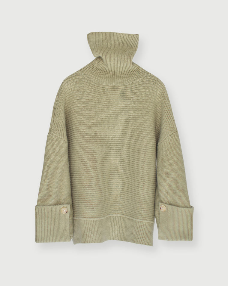 TURTLENECK KNIT - Pistachio