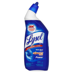 Lysol Power Toilet Bowl Cleaner, 24 oz