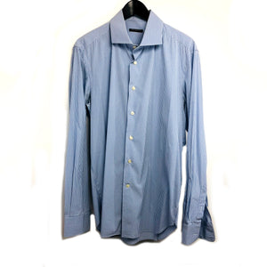 Brian & Barry man checks button down shirt sz 42