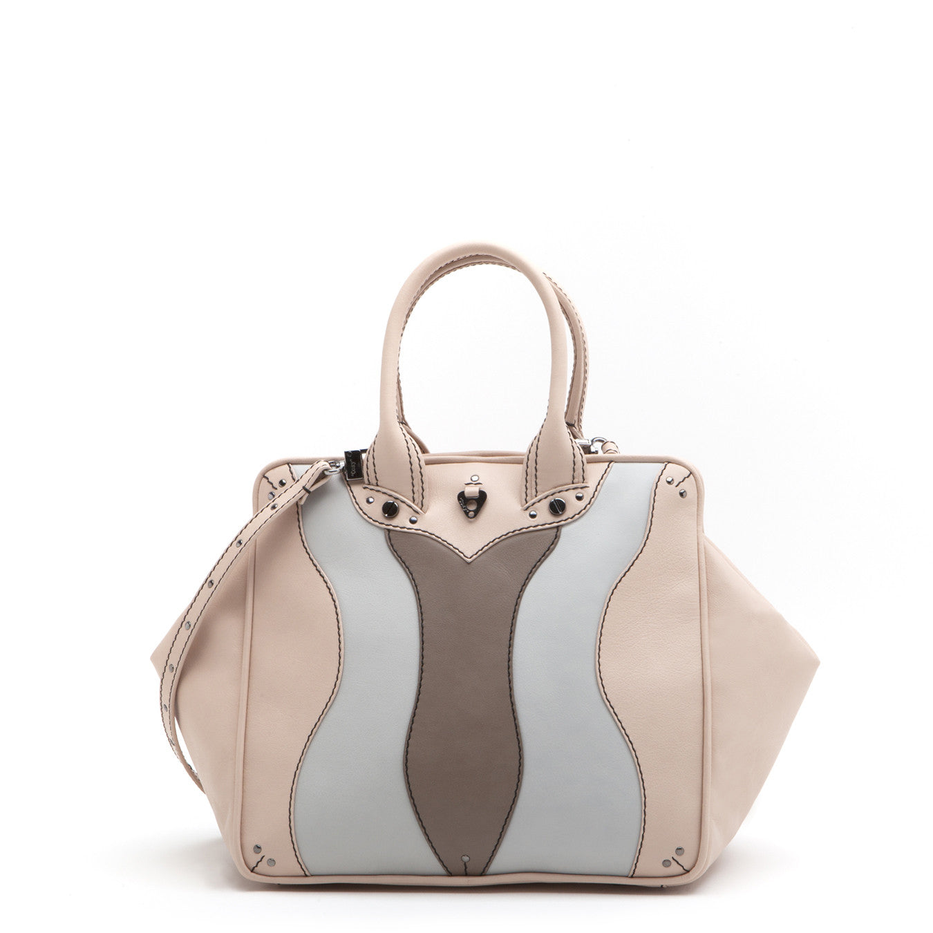 Coxy Bag Media Multicolor Nude + Ash + Shadow