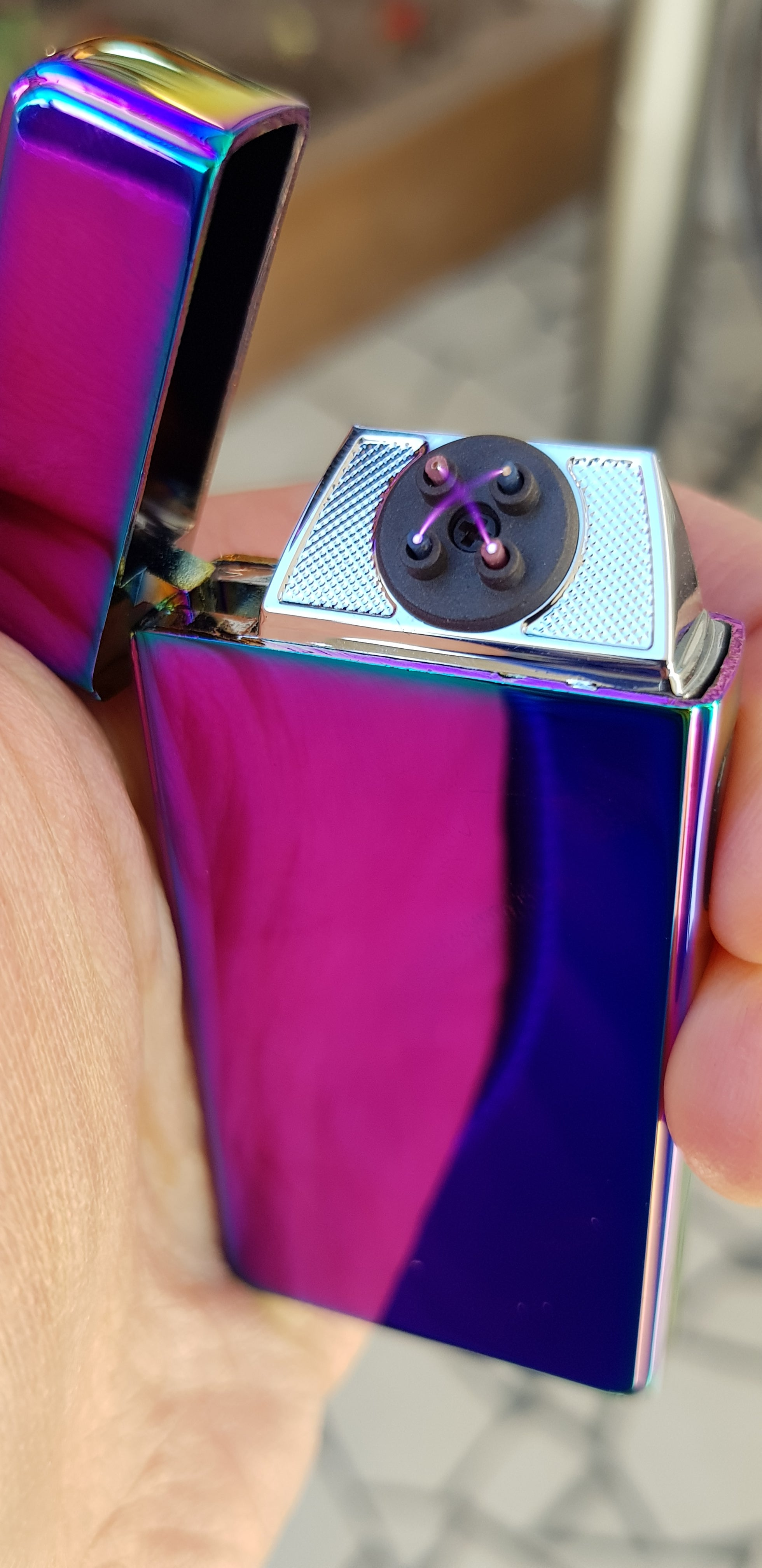 Titanium Signature Dual Arc Lighter