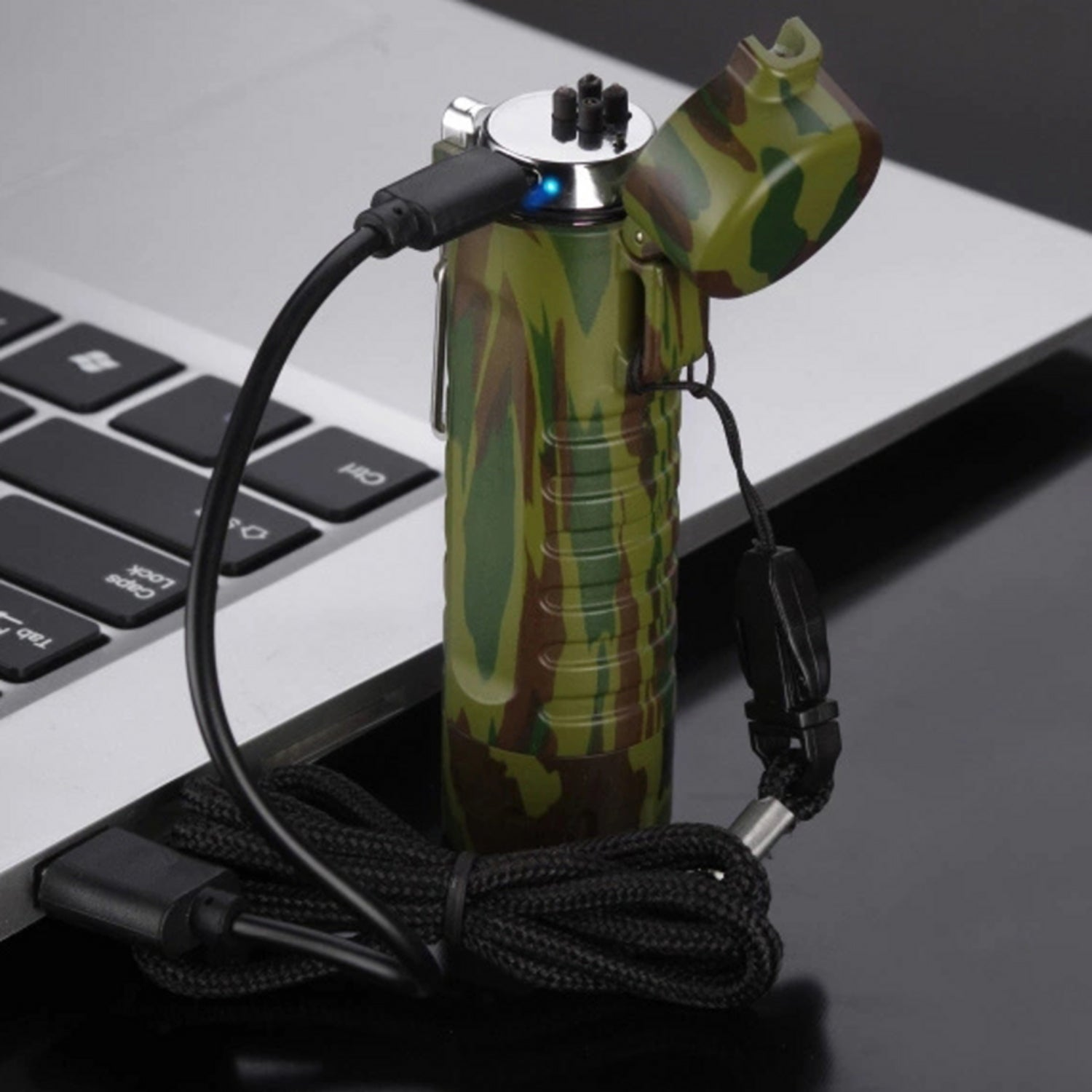 Tactical Waterproof Dual Arc Lighter- 5 colours Available