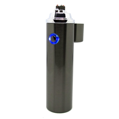 Gun Metal Finish Cigar Arc Lighter