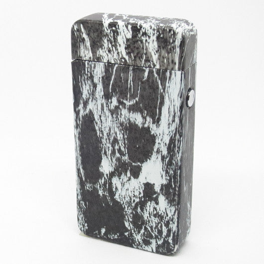 USB Rechargeable Marble Dual Plasma Arc Lighter with Side Button