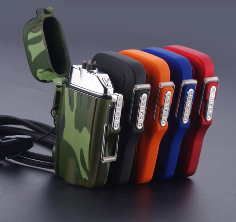 Mini Tactical Waterproof Dual Arc Lighter- 5 colours Available