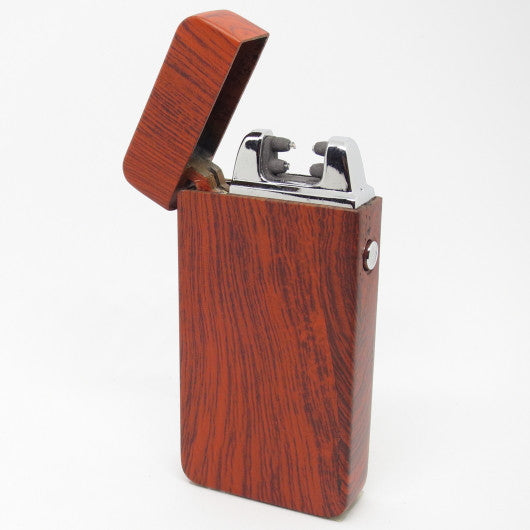 USB Rechargeable Redwood Dual Plasma Arc Lighter with Side Button