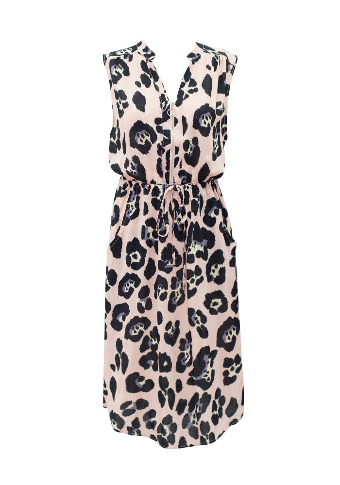 Animal Zip Dress