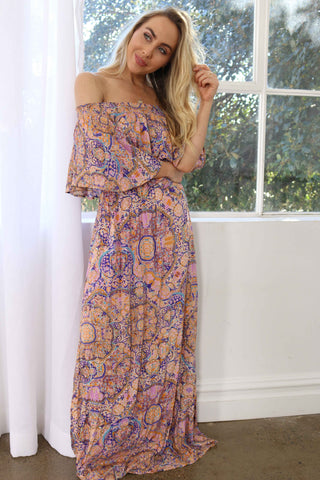 Summer Roads Maxi Dress