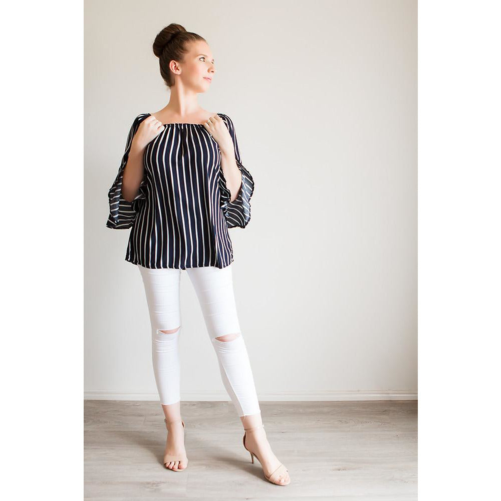 Majella Stripe Top