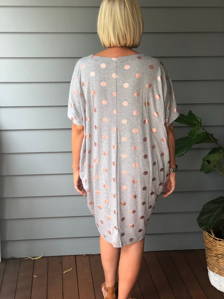 Rose Gold Tunic