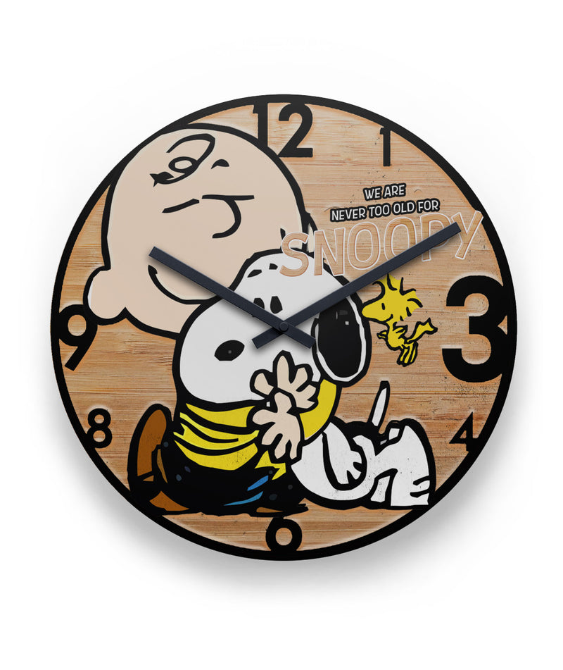 We Are Never Too Old For Snoopy Clock