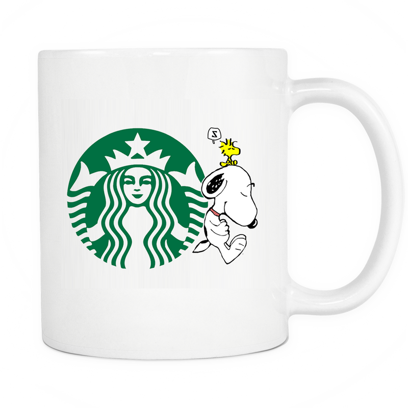 Starbuck Coffee Snoopy Mug