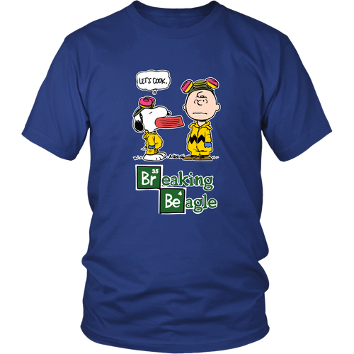Breaking Beagle Let's Cook Snoopy Shirts
