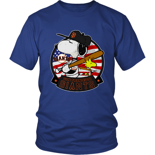 San Francisco Giants Snoopy Shirts