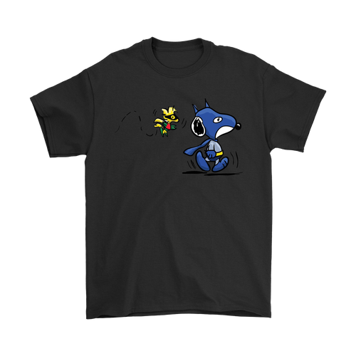 Batman Robin Woodstock And Snoopy Shirts